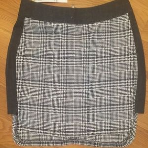 BCBG Denim, Plaid Skirt